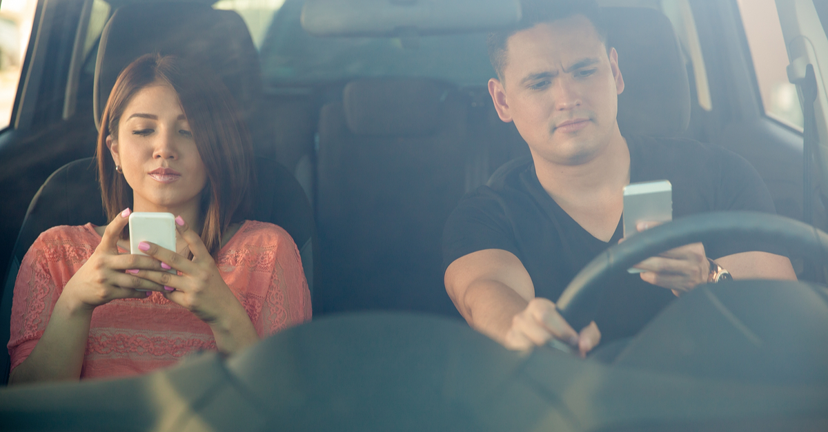 8 Ways You're Distracting Yourself While You Drive